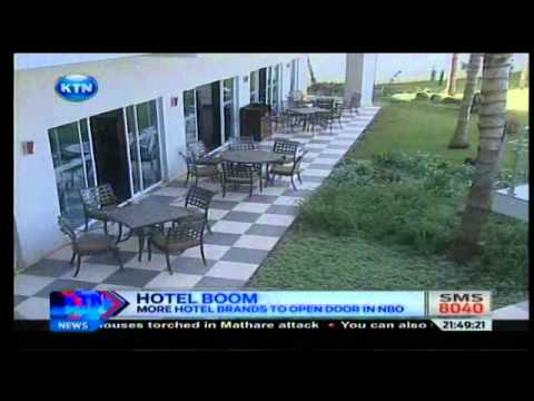 News : Kenya Red Cross opens international hotel