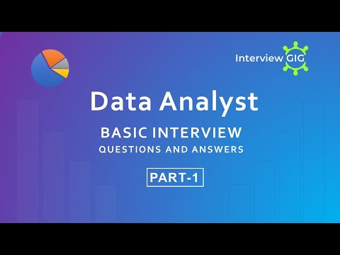 Data Analyst  Interview Questions And Answers -Part-1 |Data Analyst| Data Science|