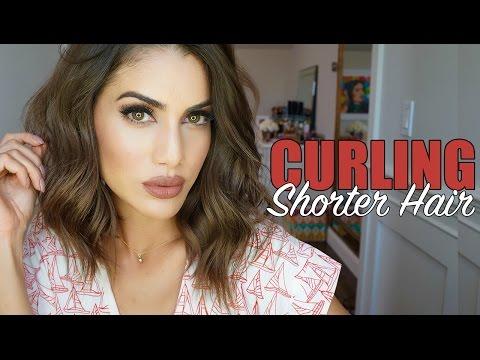 Curling Shorter Hair