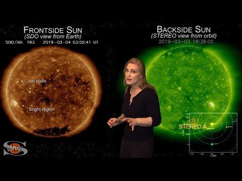 Space Weather News | A Hotspot Turns Sunspot & Orbit Outlook 03.06.2019