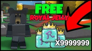 (CODE) GET FREE ROYAL JELLY - Roblox Bee Swarm Simulator