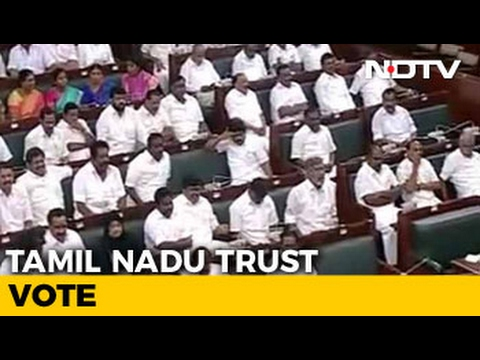 E Palaniswami Wins Tamil Nadu Floor Test After 5 Hours Of Drama