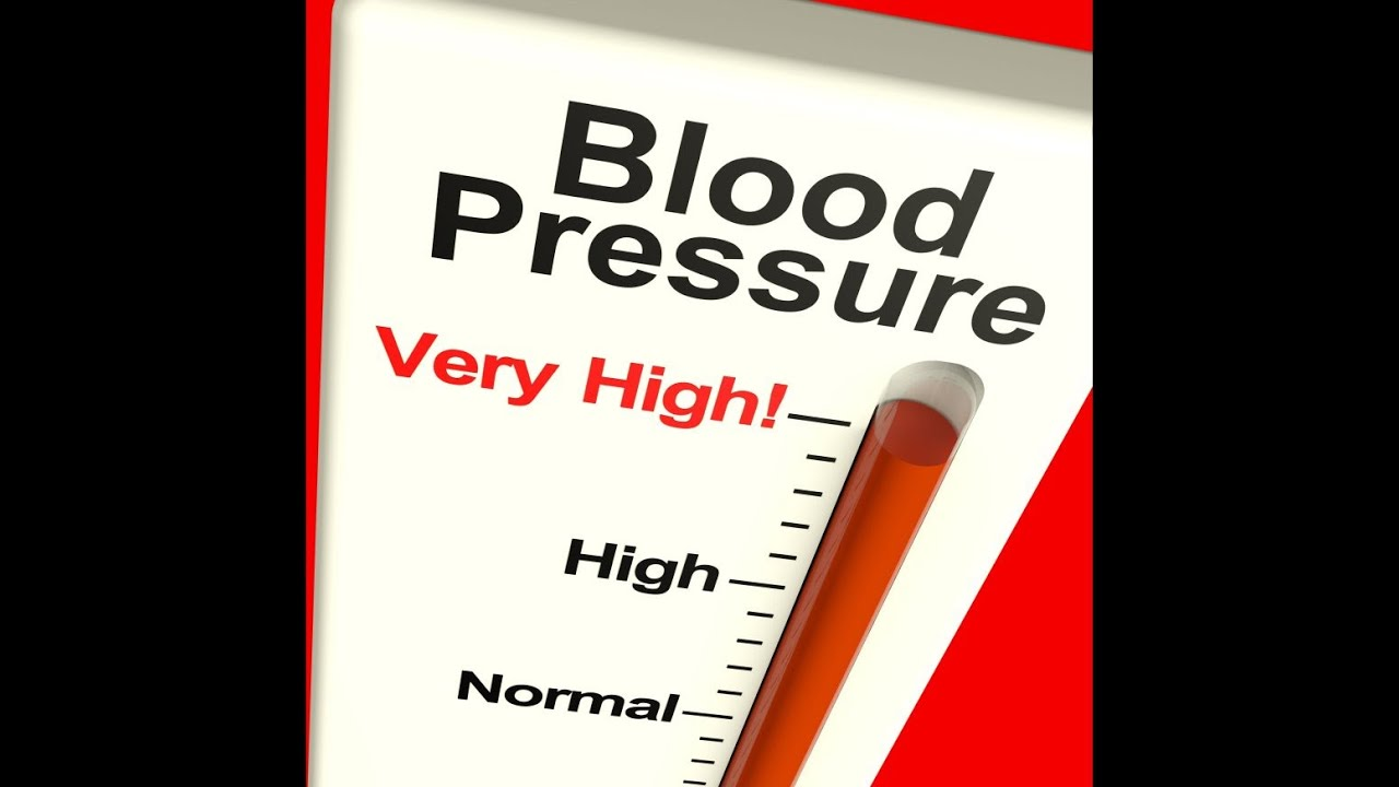 What to do with increased blood pressure