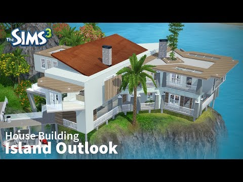 The Sims 3 House Building - Island Outlook