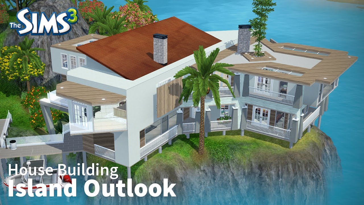 Island Outlook   The Sims 3 House Building