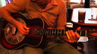 Ramblin Blues By Johnny Shines Played By Jeremiah Lockwood.