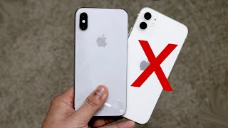 Why The iPhone X Is Better Than The iPhone 11
