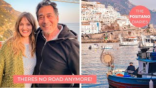 A DAY AT HOME IN POSITANO & AMALFI AFTER THE LANDSLIDE | The Positano Diaries EP 94