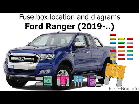 Fuse box location and diagrams: Ford Ranger (2019-..) - YouTube  Ranger Fuse Box Diagram on ranger key, ranger relay diagram, ranger wiring diagram, ranger heater diagram,