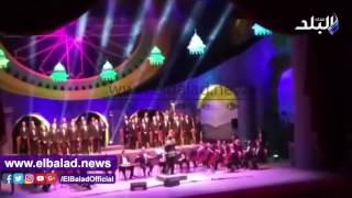 بالفيديو ..الأوبرا تتجلى فى مدح الرسول فى احتفالية السنة الهجرية