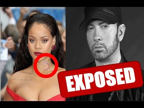 RIHANNA REVEALS THE HiCKEYS THAT EMINEM GAVE HER !!! ( Shocking )