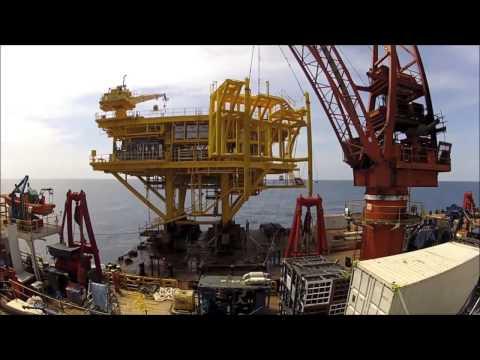 Amazing Construction! - Offshore Platform
