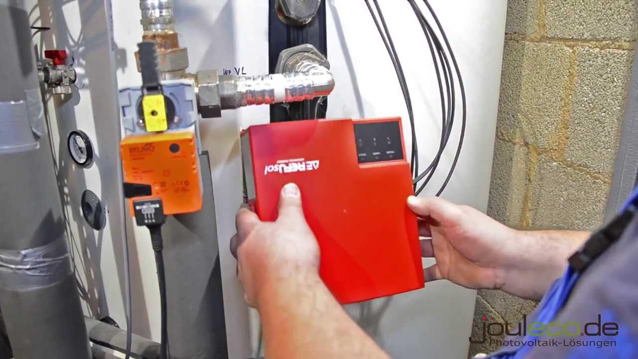 PV-Heater von Refusol - Montage und Einbau in Warmwasserspeicher ...