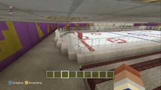 Building a City in Minecraft (Xbox 360 Edition) #33 - The Hockey Arena