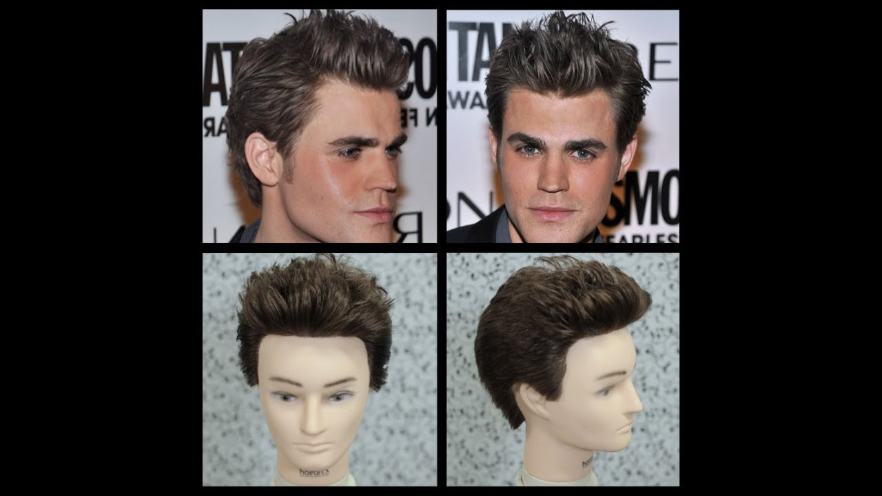 Paul Wesley Haircut Tutorial - The Vampire Diaries