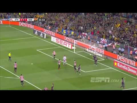 GOALS | ATHLETIC BILBAO 1 vs 3 BARCELONA | 30/05/15
