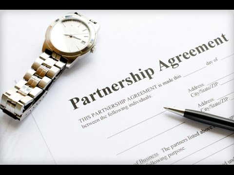 Partnership Agreement -- 60 Second Business Tip - YouTube