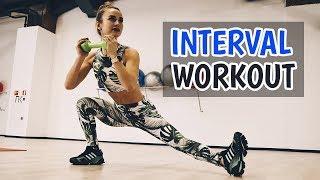 Интервальная тренировка для похудения | СЖИГАЕМ ЖИР! FULL BODY HIIT