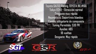 XXIV #SGT by @GlosoGamer #GSR - #C8 - Tokyo R246