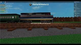 ROBLOX Amtrak at Grand River Scenic Railroad