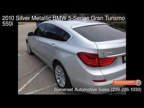 2010 Silver Metallic BMW 5-Series Gran Turismo 550i - Fort Myers, FL ...