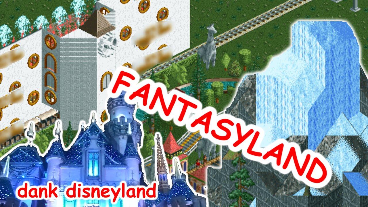 CoasterCrazy com Dank Disneyland (RCT2) : Roller Coaster