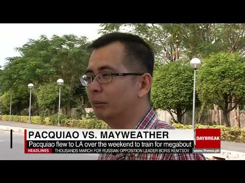 Analyst: Southpaw Pacquiao may have upper hand