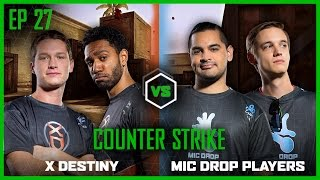 EP 27 | COUNTERSTRIKE | TmarTn and runJDrun vs Lui Calibre and Jericho | LOG