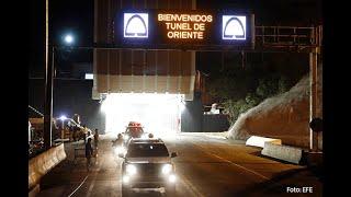 Con bombos y platillos pasó la primera caravana de vehículos que puso en marcha el Túnel de Oriente
