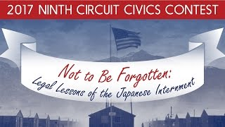 Not to Be Forgotten  Legal Lessons of the Japanese Internment