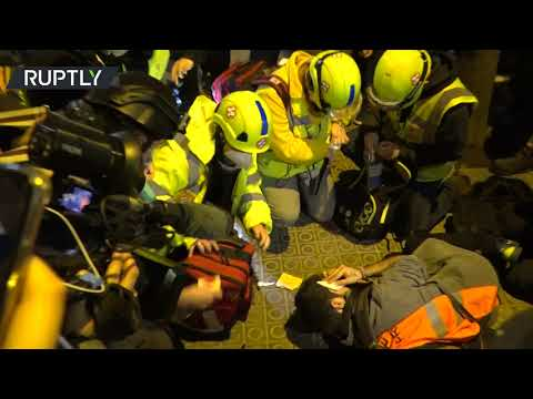 8th night of protests | Pablo Hasel supporters clash with police