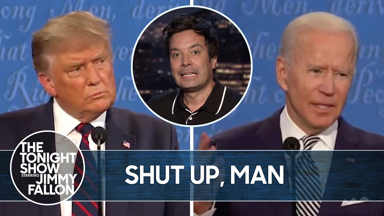 Trump and Biden's First Debate Was a Mess | The Tonight Show