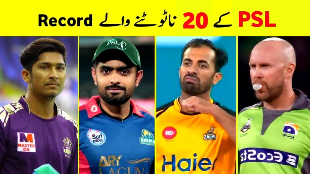 Top 20 Records of PSL That are Impossible to Break   Pro Tv