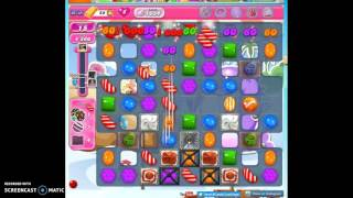 Candy Crush Level 1634 help w/audio tips, hints, tricks