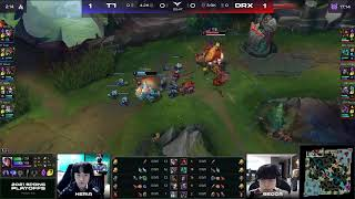T1 vs DRXㅣ2021 LCK Spring PLAYOFFS Round 1