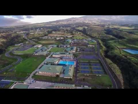 Kamehameha School, Maui from DJI Inspire1