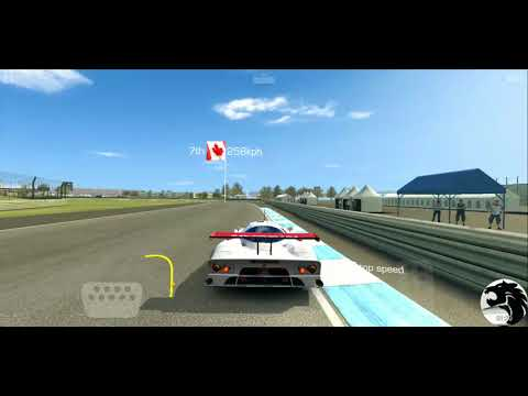 Real Racing 3 Nissan R390 GT1 Championship 7a Speed Record @ Indianapolis Motor Speedway
