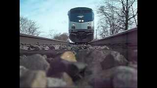 Camera Under a Moving Train