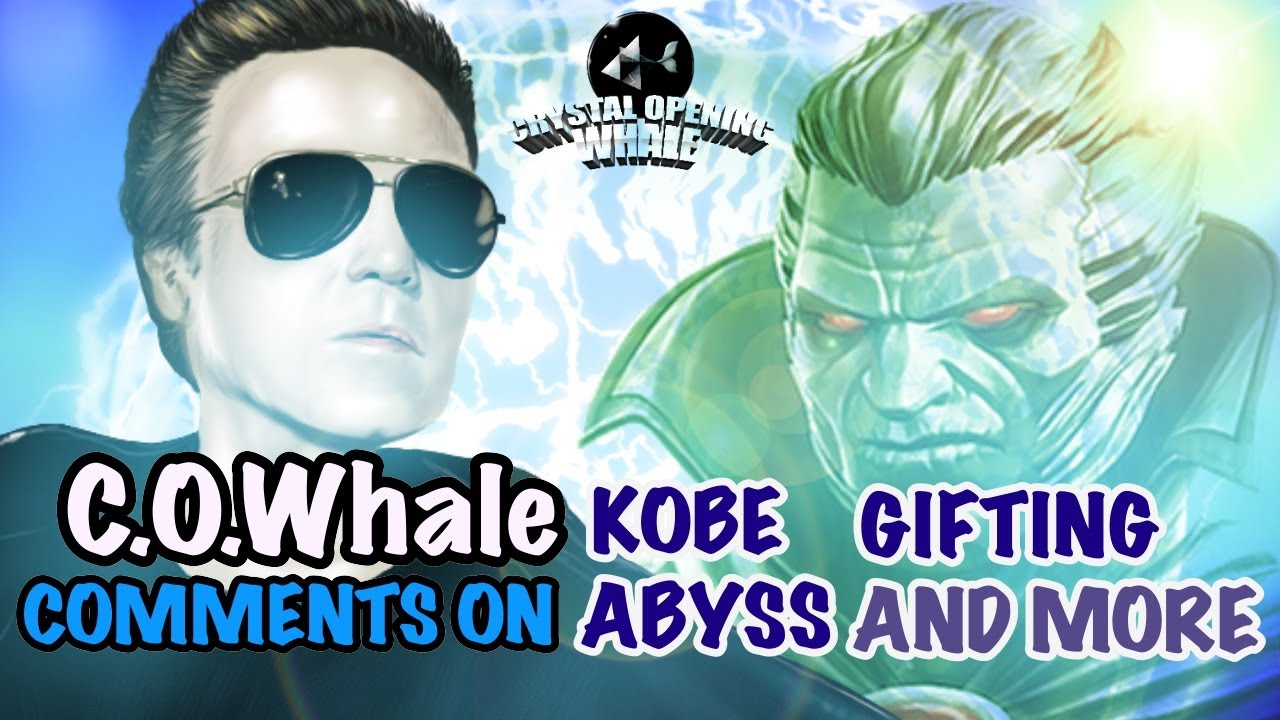 RIP Kobe Plus My Thoughts on theGifting Mess and Abyss and-Marvel Contest of Champions