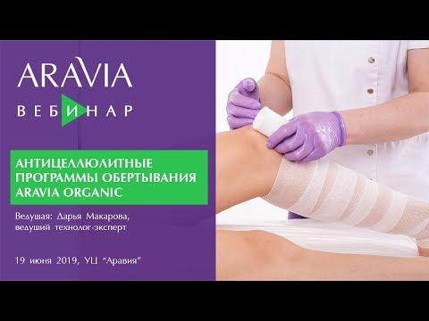 Вебинар ARAVIA Professional. Антицеллюлитные программы обертывания ARAVIA ORGANIC
