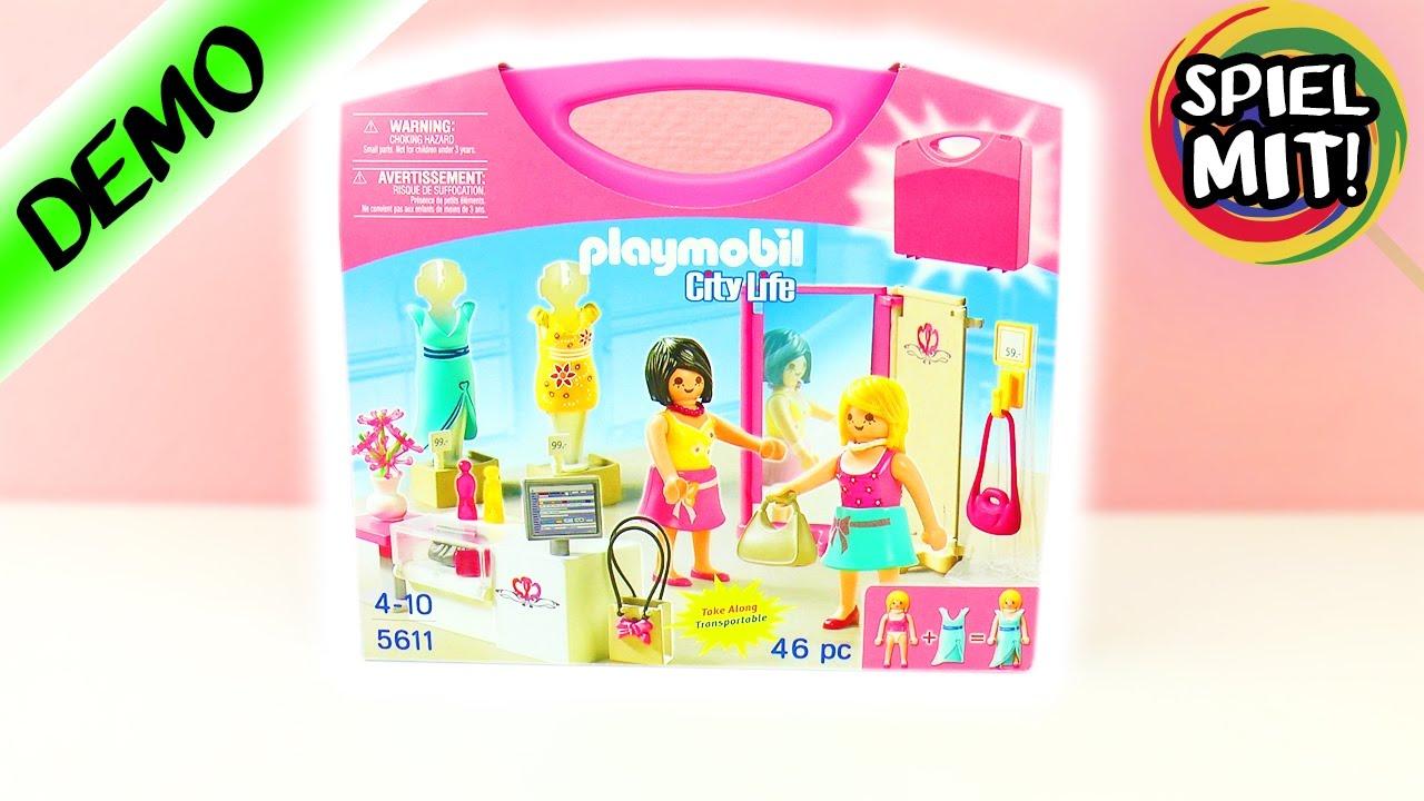Playmobil deutsch einkaufen im fashion geschäft