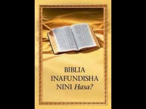 Download Mafundisho Ya Biblia Sehemu Ya 1