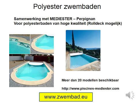 Zelf een zwembad bouwen deel 11 metalen houten en for Kostprijs polyester zwembad