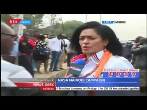 NASA leader Raila Odinga courts Nairobi residents