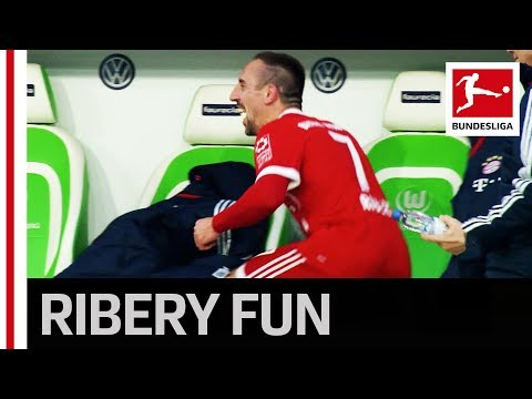 Joker Ribery Plays Trick on Heynckes During Substitution