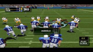 Madden NFL 2000 PS1 Gameplay HD