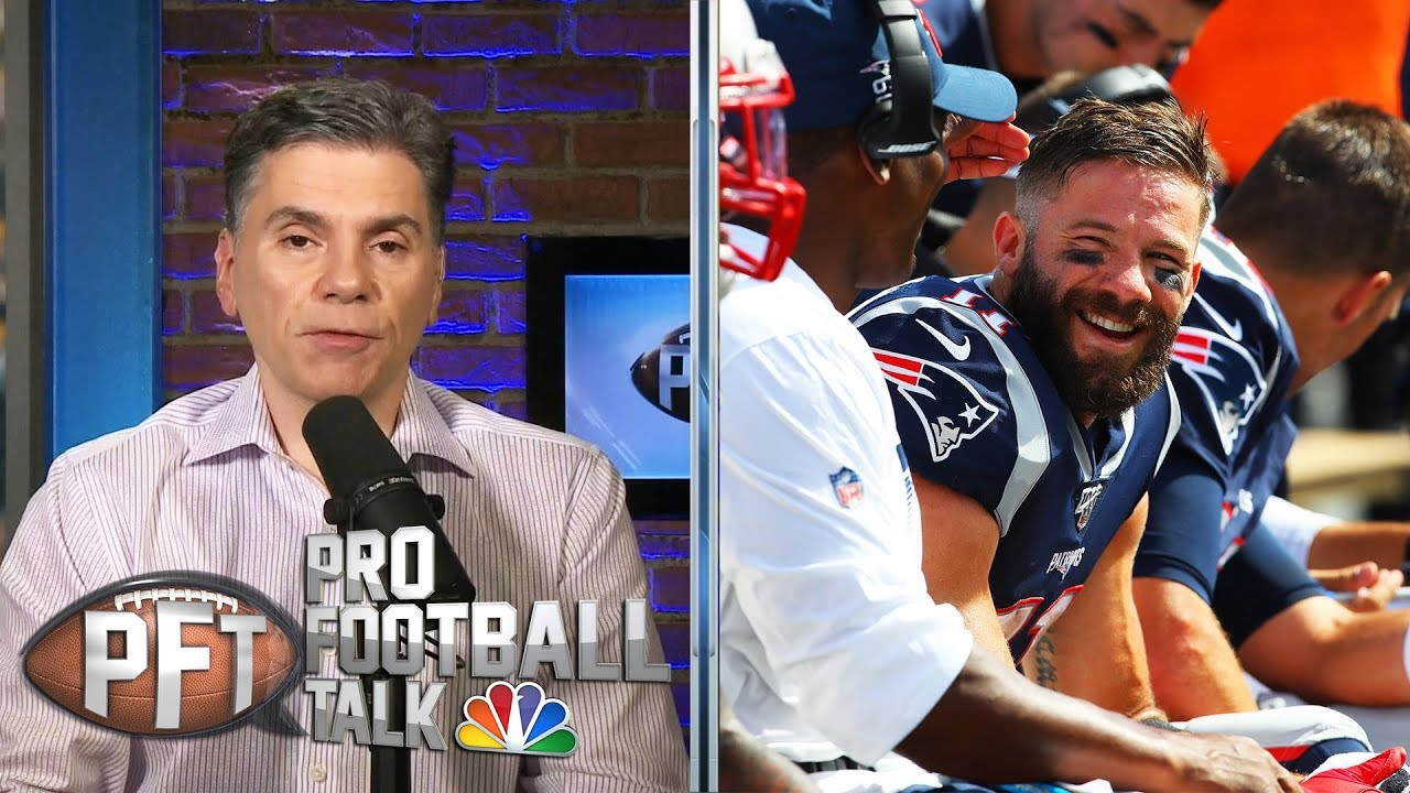 PFTOT: Patriots' record, Todd Gurley's role with Rams | Pro Football Talk | NBC Sports