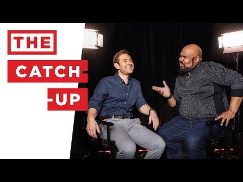 The Catch-Up: James Monroe Iglehart (MEMPHIS, ALADDIN, HAMILTON) & Chad Kimball (COME FROM AWAY)