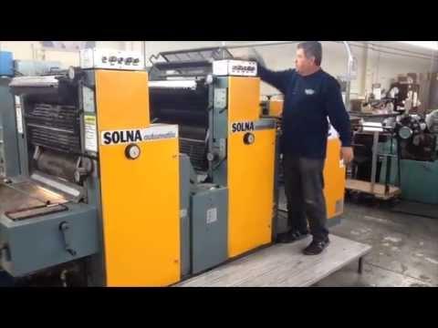 Solna 264P 2 Color Offset Press