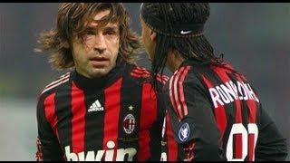 Pirlo VS Ronaldinho The Freekicks Masters